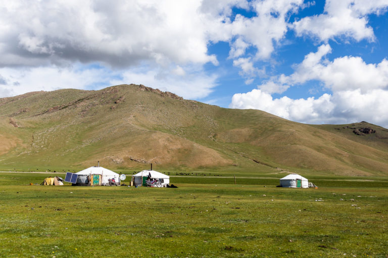 Jurten Mongolei